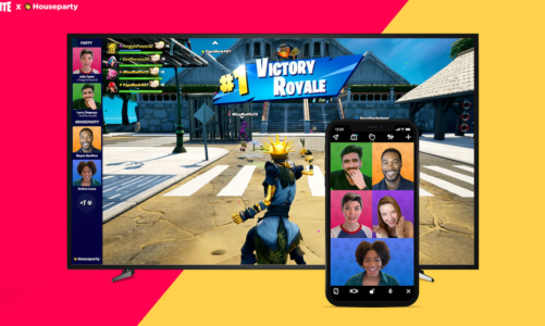 Fortnite and Houseparty partner for in-game video chat – Polygon