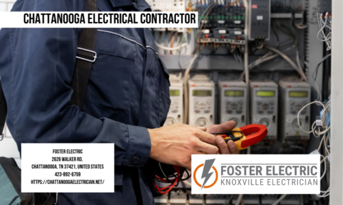 Chattanooga Electrical Contractor | Foster Electric | 423-892-6759
