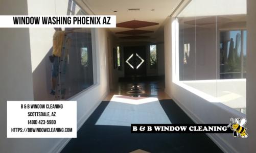 Window Washing Phoenix AZ | B & B Window Cleaning | (480) 423-5980
