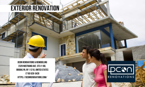 Exterior Renovation | DCON Renovations & Remodeling | (718) 628-3428