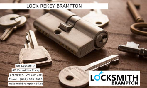 Lock rekey Brampton | GR Locksmith | (647) 696-8686