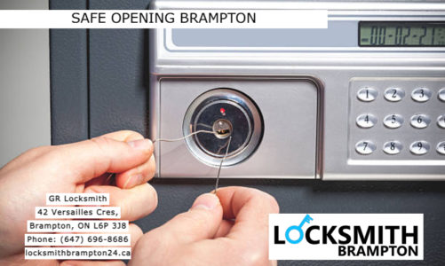 Safe Opening Brampton | GR Locksmith | (647) 696-8686