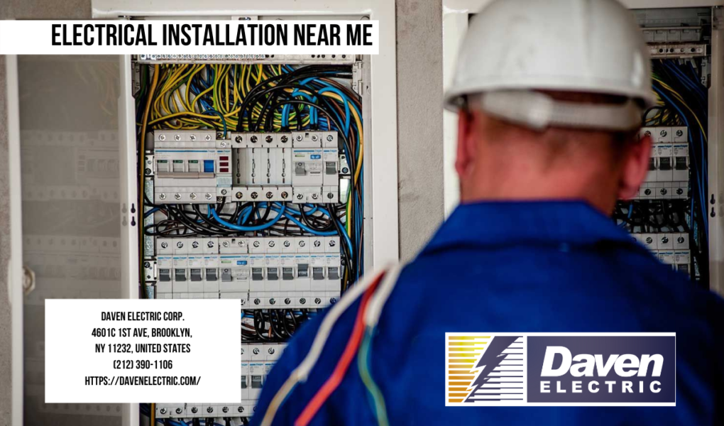 Electrical installation Near me | Daven Electric Corp. | (212)390-1106