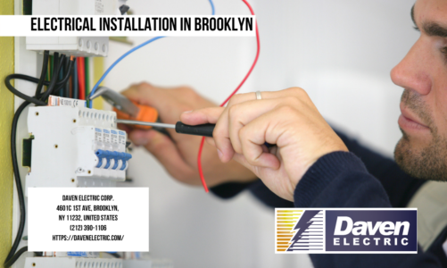 Electrical Installation in Brooklyn | Daven Electric Corp. | (212) 390-1106
