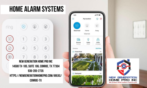 Home Alarm Systems | New Generation Home Pro Inc | 936-205-2735