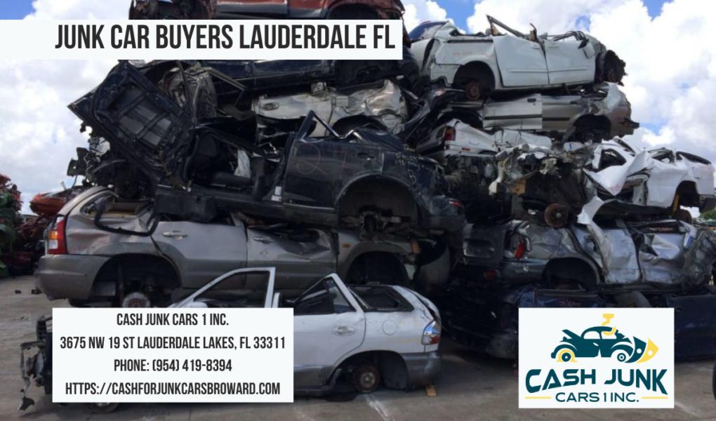 junk car buyers Lauderdale fl