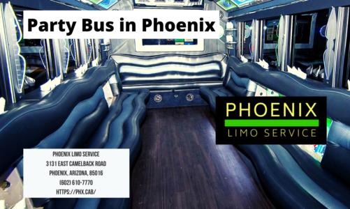 Party Bus in Phoenix
